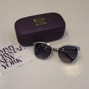 Jimmy Crystal New York Sunglasses w/ Swarovski